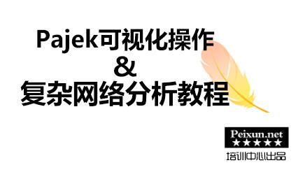 Pajek可视化操作与复杂网络分析教程