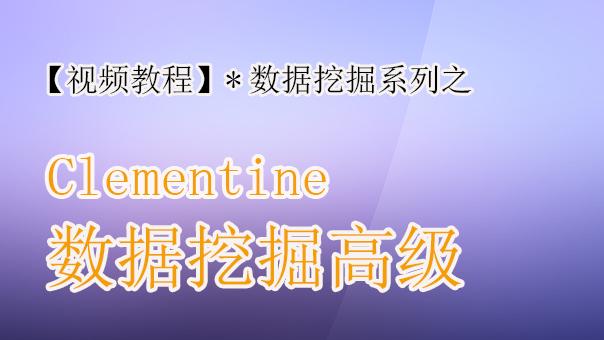 Clementine数据挖掘(高级班)