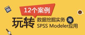 12个案例玩转数据挖掘实务与SPSS Modeler应用(高级班)